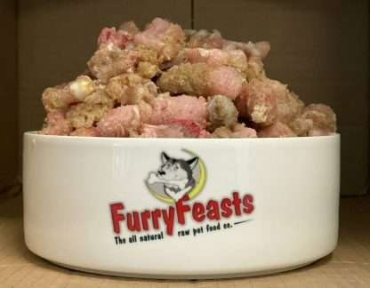 Furry Feasts Turkey and Tripe Complete