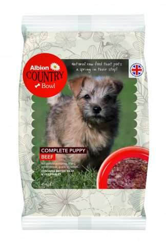 Albion Complete Puppy Raw Food